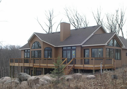 Home Constructed by Chad Miller Construction